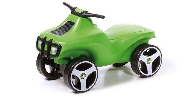 Prosperplast dětské odrážedlo BCRAZ zelené 361C