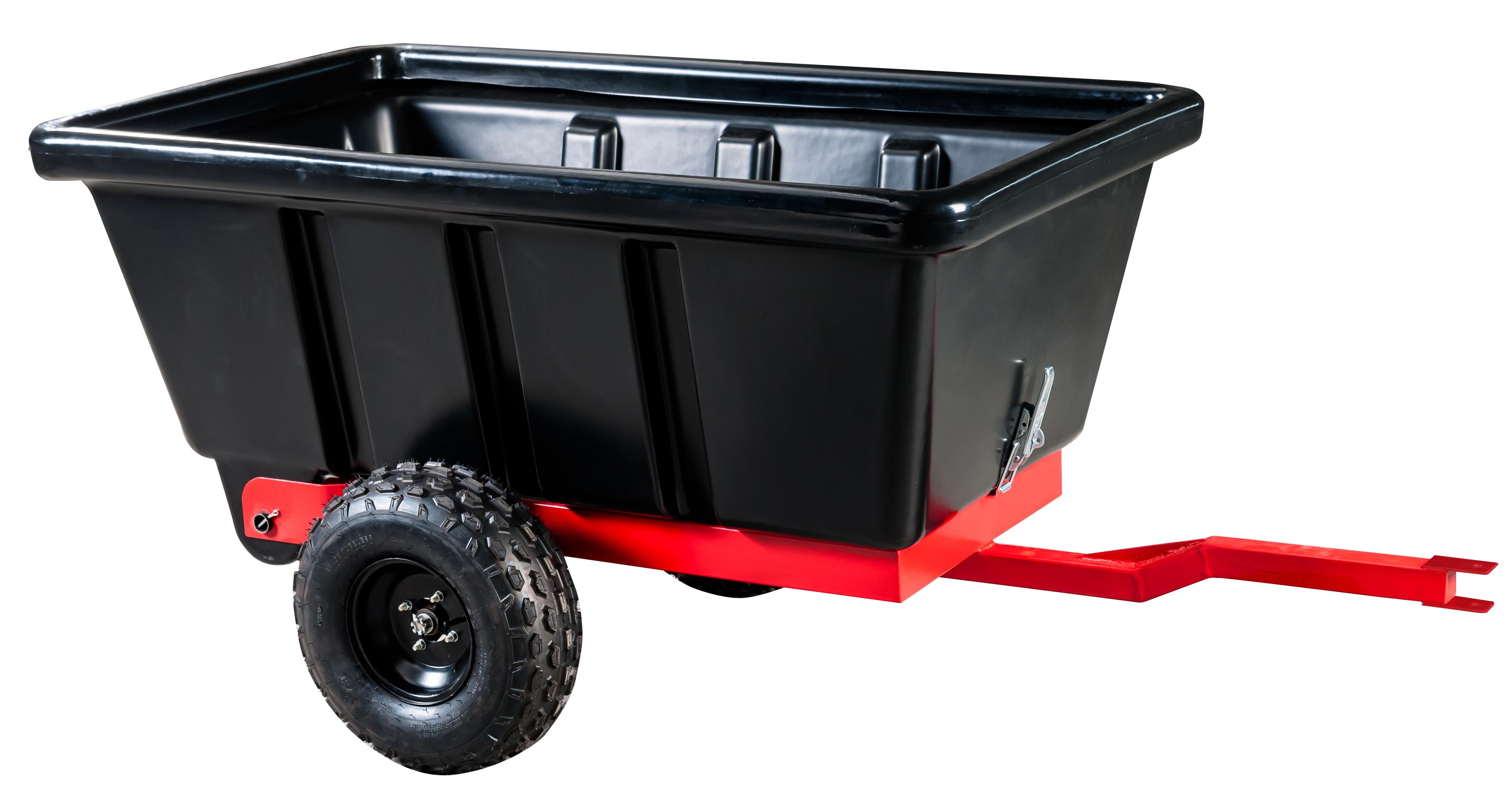 J.A.D. Tools Vozík přívěsný dvoukol. 500 l - plast.korba