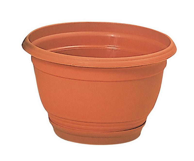 """květináč """"AGRO"""", DAGS 1, barva terakota (včetně misky), průměr 160 mm"""