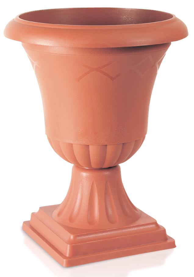 """květináč """"ATENA"""" s podstavcem, GPW0, cihlový, rozměr 272x340 mm"""