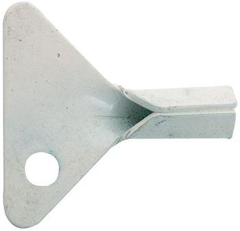 klíček, bílá barva