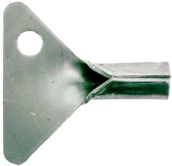 klíček, pozinkovaný