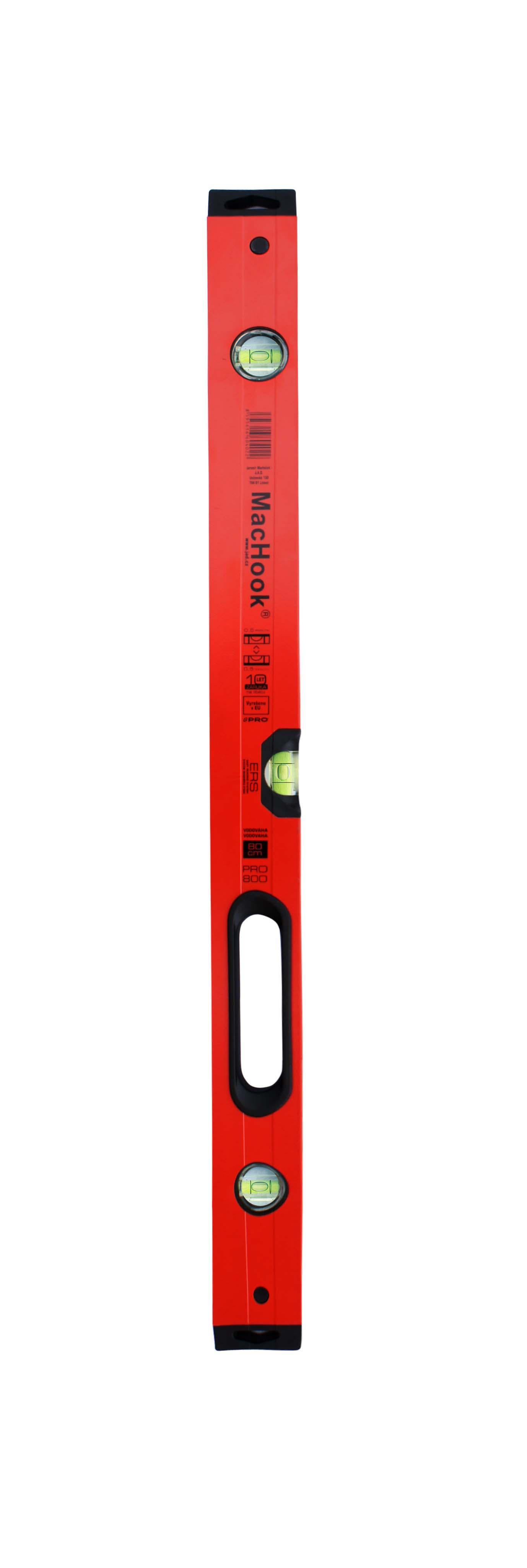 J.A.D. Tools vodováha 80 cm, úchyt, 3 libely