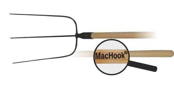 MacHook vidle BAV.3hr. s násadou 130 cm černé