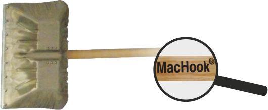 MacHook Al shrnovač na sníh s násadou 130 cm
