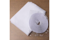 síť proti hmyzu 150x130cm,bílá PE