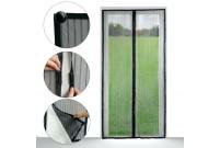 síť proti hmyzu 218x96cm do dveří,magnetická,černá PE