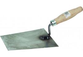zednické lžíce z černého plechu, 160x130