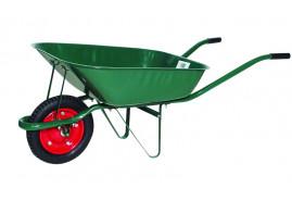 zahradnické kolečko, nosnost 80 kg objem korby 60 l s nafukovacím kolem