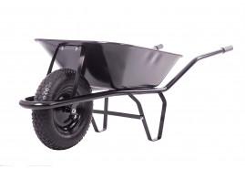 kolečko stavební 60 l, kolo nafukovací, korba tažená, nosnost 100 kg