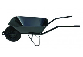 kolečko stavební 60 l, kolo nafukovací - korba bodovaná, nosnost 100 kg