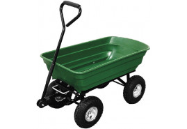 vozík čtyřkolový, plast. korba 75 l, vyklápěcí