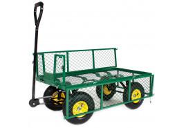 vozík čtyřkolový, drát.korba
