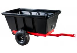 vozík přívěsný dvoukol. 500 l - plast.korba