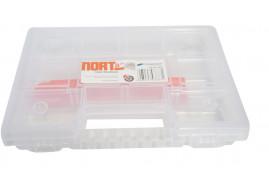box organizér NORT08 průhledný