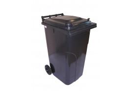 popelnice 240 l černá plastová