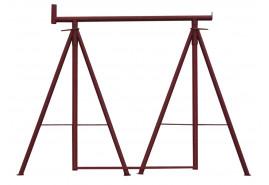 stojan lešenářský skládací 1000-1700 mm
