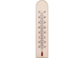 teploměr vnitřní dřevěný 230x50 mm