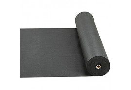 textilie netkaná 0,8 x 100m černá 50g/m2 - role