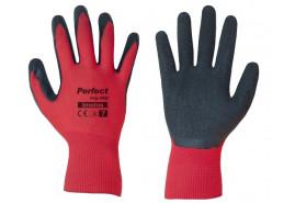 rukavice ochranné 10´ PERFECT GRIP RED