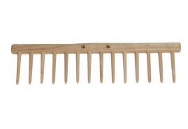 hřeben hrabí, 14 kolíků dřevěné
