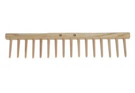 hřeben hrabí, 16 kolíků dřevěné