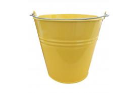 vědro 10l lakované žluté