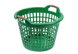 koš plastový 500mm, zelený