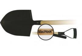 MacHook rýč špičatý s násadou